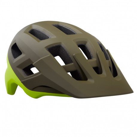 Casque VTT Lazer Coyote Mat Green Yellow