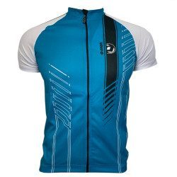 Maillot vélo manches courtes Onda Printed Minho Turquoise M12-50302
