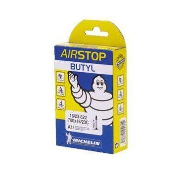 Chambre à air vélo route Michelin A1 Airstop Butyl 700x18/25